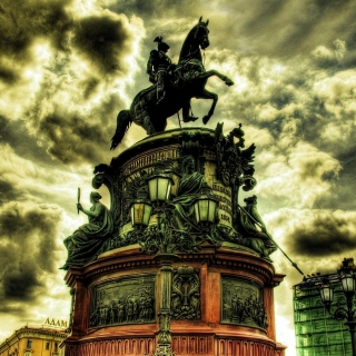 Monument to Nicholas I in Saint Petersburg - Obrázkek zdarma pro 128x128