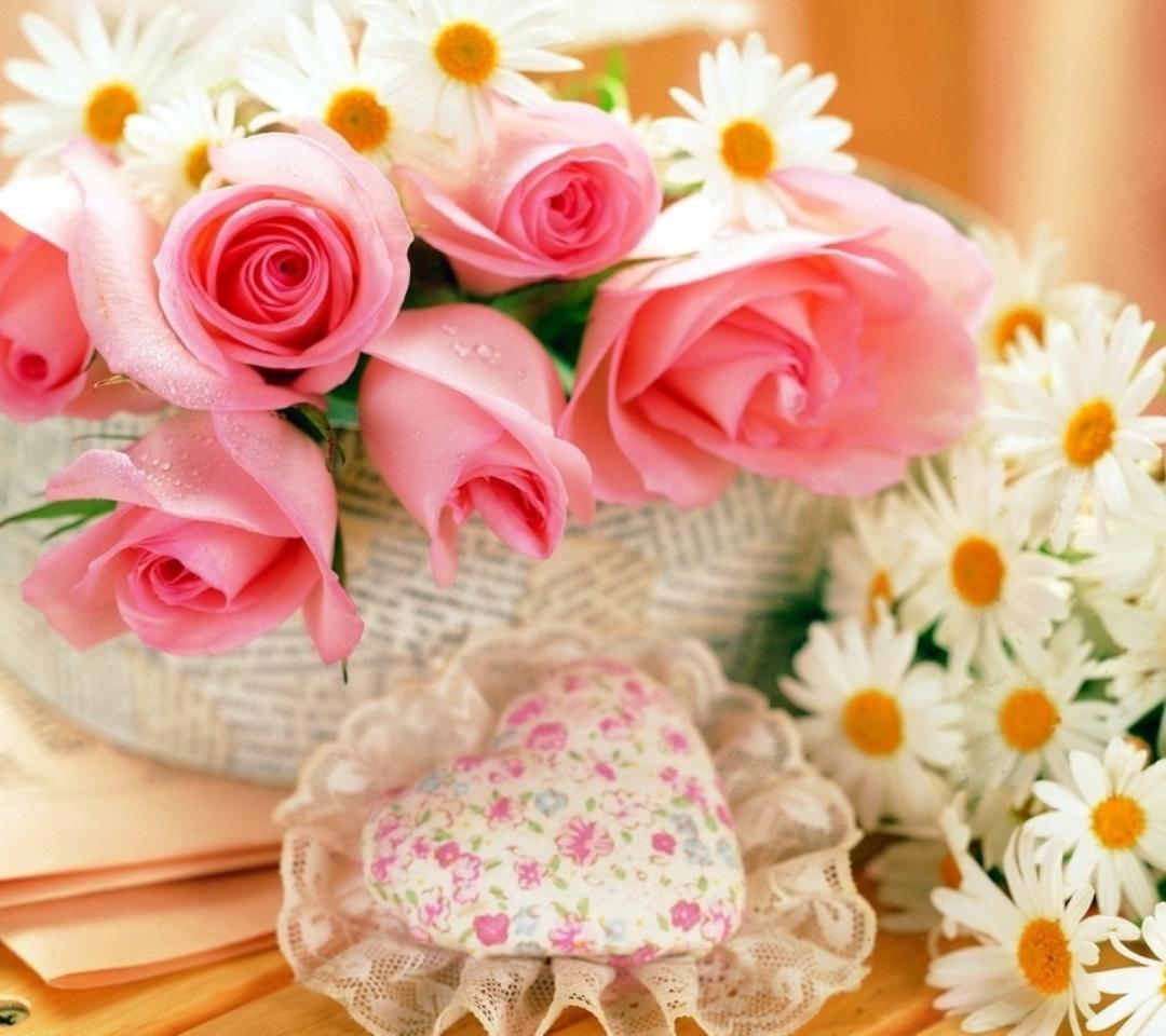 Цветы нежные в открытках