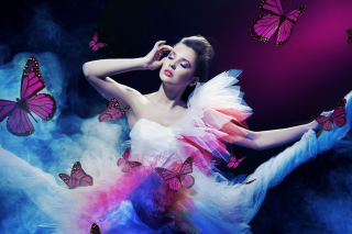 Girl Fantasy Background for Android, iPhone and iPad