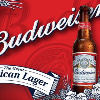 Budweiser Lager Beer Brand - Obrázkek zdarma pro iPad Air