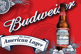 Budweiser Lager Beer Brand Wallpaper for Android, iPhone and iPad