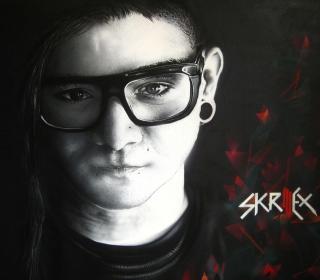 Skrillex - Obrázkek zdarma pro iPad Air