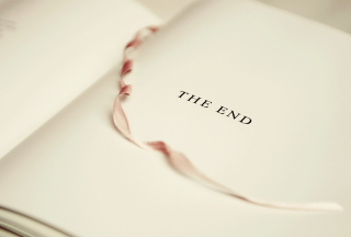The End Of Book Wallpaper for Android, iPhone and iPad