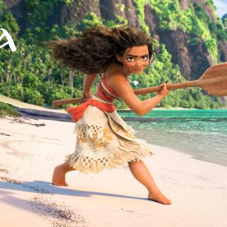 Moana 3D Cartoon - Obrázkek zdarma pro iPad 2
