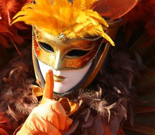 Carnival Mask - Obrázkek zdarma pro iPad