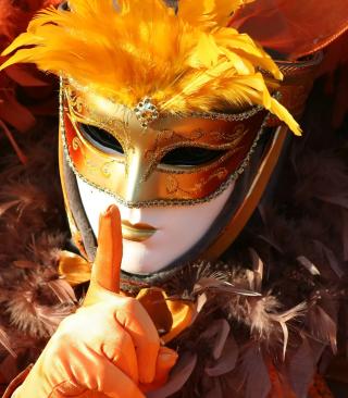 Carnival Mask - Obrázkek zdarma pro Nokia Asha 503