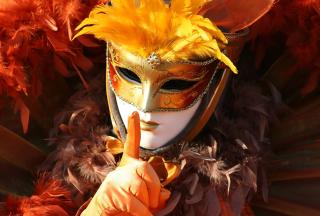 Carnival Mask - Obrázkek zdarma pro Fullscreen Desktop 1400x1050