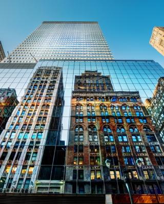 Big City Reflections - Obrázkek zdarma pro Nokia Asha 311