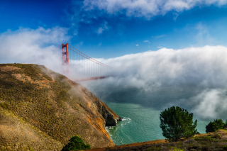 California San Francisco Golden Gate Wallpaper for Android, iPhone and iPad