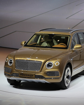Bentley Bentayga - Obrázkek zdarma pro 640x960