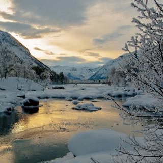 Winter Outdoor Image - Obrázkek zdarma pro iPad mini