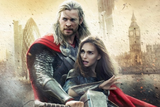Thor The Dark World Movie Background for Android, iPhone and iPad