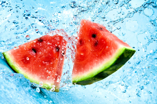 Watermelon Triangle Slices Background for Android, iPhone and iPad