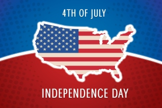 4th of July, Independence Day Background for Android, iPhone and iPad