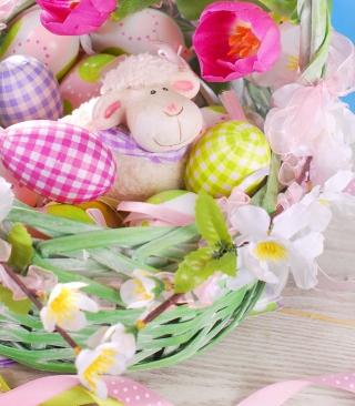 Easter Sheep - Obrázkek zdarma pro 320x480