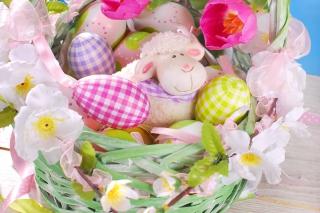 Easter Sheep - Obrázkek zdarma pro 800x480