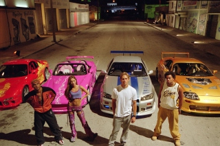 2 Fast 2 Furious Background for Android, iPhone and iPad