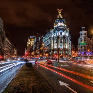 Alcala de Henares UNESCO in Madrid - Obrázkek zdarma pro iPad 3