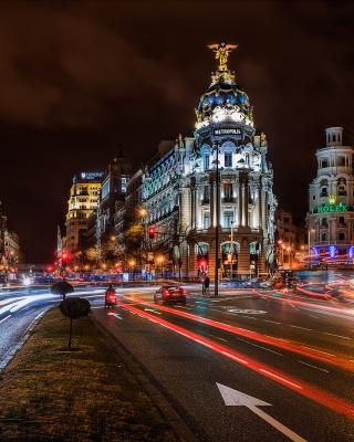 Alcala de Henares UNESCO in Madrid - Obrázkek zdarma pro iPhone 6 Plus