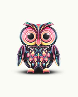 Cute Owl - Obrázkek zdarma pro Nokia C5-06