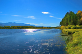 Scenic Lake Oregon HD Picture for Android, iPhone and iPad