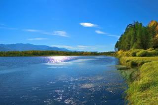 Scenic Lake Oregon HD sfondi gratuiti per cellulari Android, iPhone, iPad e desktop