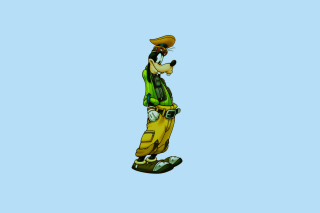 Goof - Walt Disney Cartoon Character Background for Android, iPhone and iPad