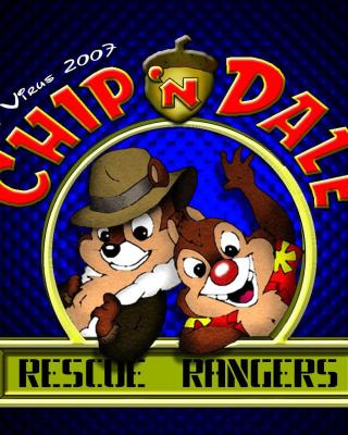 Chip and Dale Cartoon - Fondos de pantalla gratis para Nokia C2-02