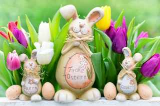 Frohe Ostern Picture for Android, iPhone and iPad