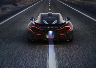 McLaren P1 Background for Android, iPhone and iPad