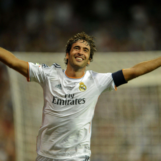 Raul Gonzalez Real Madrid - Obrázkek zdarma pro 320x320