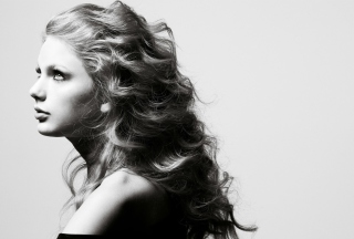 Free Taylor Swift Side Portrait Picture for Android, iPhone and iPad
