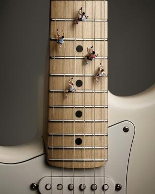 Funny Guitar - Obrázkek zdarma pro Nokia Asha 310