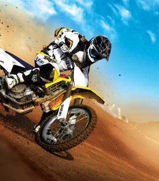 Suzuki Motocross - Obrázkek zdarma pro Nokia C-5 5MP