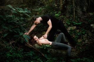 Robert Pattinson With Kristen Stewart - Obrázkek zdarma pro Sony Xperia C3