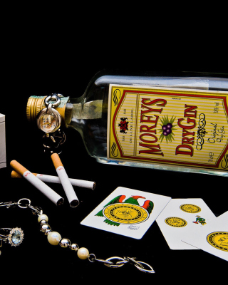 Dry Gin Moreys - Obrázkek zdarma pro 360x640