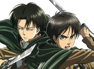 Shingeki no Kyojin Background for Android, iPhone and iPad