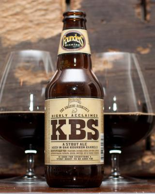 KBS Kentucky Breakfast Stout Stout Ale - Obrázkek zdarma pro 480x854