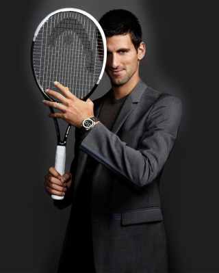 Novak Djokovic - Obrázkek zdarma pro Nokia Asha 202