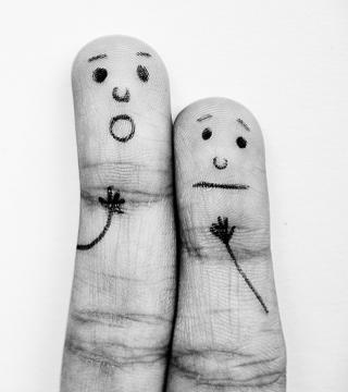 Emotional Fingers - Obrázkek zdarma pro 128x128