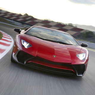 Lamborghini Aventador LP 750 4 Superveloce - Obrázkek zdarma pro iPad mini