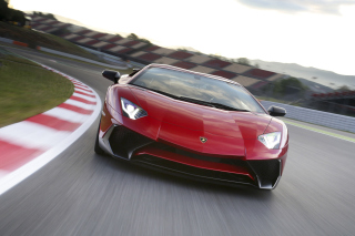 Free Lamborghini Aventador LP 750 4 Superveloce Picture for Android, iPhone and iPad