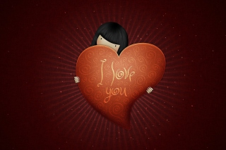 Free I Love You, Boy Picture for Android, iPhone and iPad