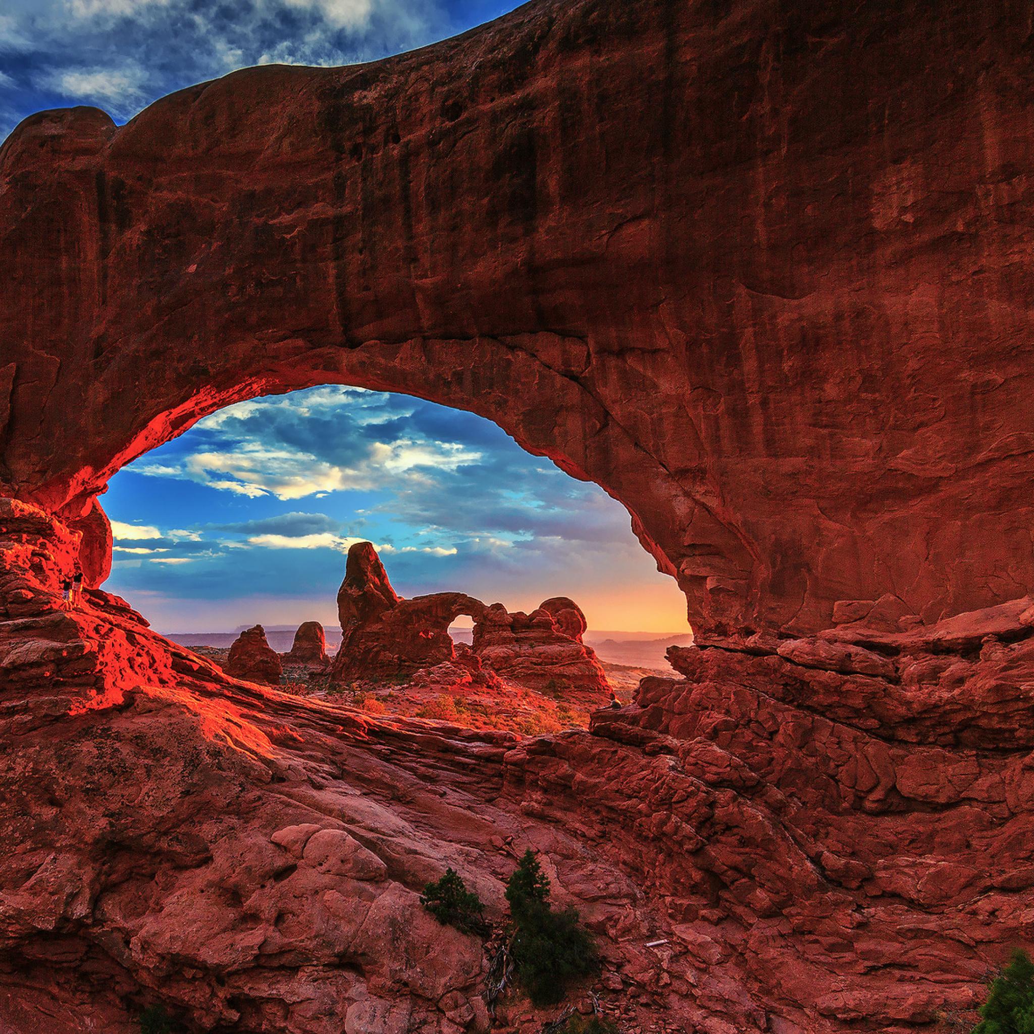 каньон арка небо  № 889018 бесплатно