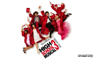 High School Musical 3: Senior Year Background for Android, iPhone and iPad