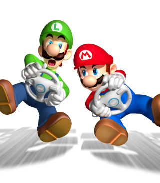 Mario And Luigi - Obrázkek zdarma pro Nokia Asha 308