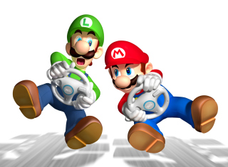 Mario And Luigi - Obrázkek zdarma pro Samsung Galaxy Tab 4 7.0 LTE