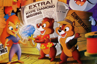 Free Chip and Dale Rescue Rangers Picture for Android, iPhone and iPad