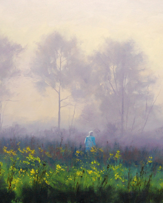 Graham Gercken Landscape - Obrázkek zdarma pro Nokia Asha 303