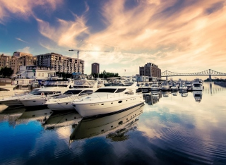 Luxury Yachts In Nice Wallpaper for Android, iPhone and iPad